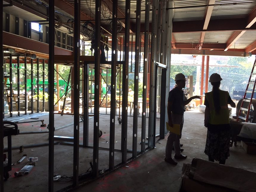 Day 50 of Construction (August 12, 2015)