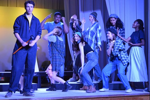 High School Production of Urinetown