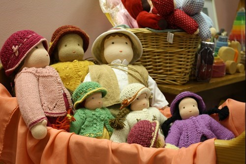 waldorf dolls for sale at fall bazaar